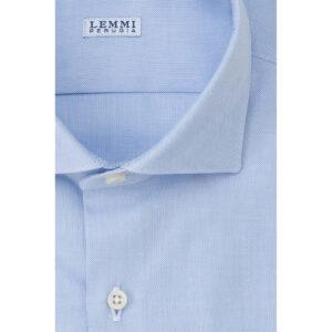 Camicia Oxford celeste chiaro