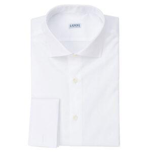 Camicia bianca collo francese